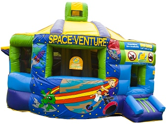 Fun Factory Jumping Castle in Space Theme