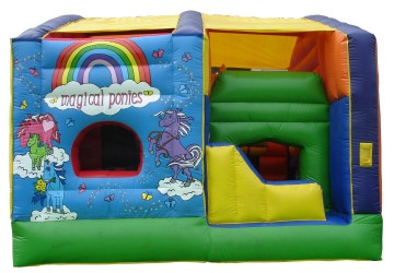 Drop Zone Falling Floor Combo Jumping Castle