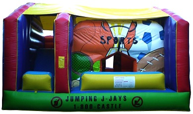 Jumping Castles with Slides